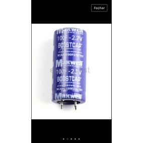Maxwell 27v 3000f Ultracapacitor - Eletrônicos, Áudio e