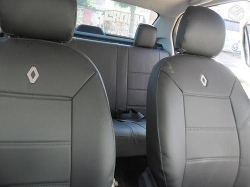 capas automotiva em  courvin para o  logan