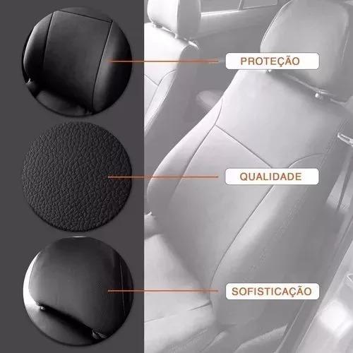 capas automotivas de couro courvin para ford ka 2010 a 2018