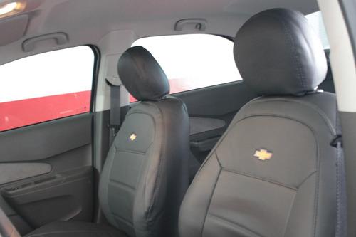capas automotivas de couro courvin para spin 7 lugares