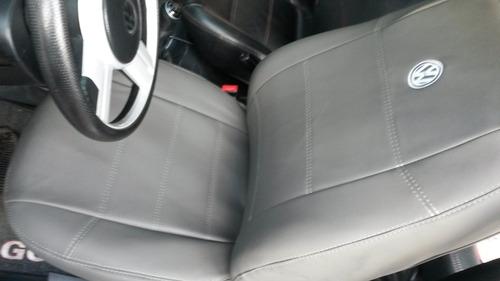 capas automotivas de couro para o gol g5 g6 voyagen cinzento