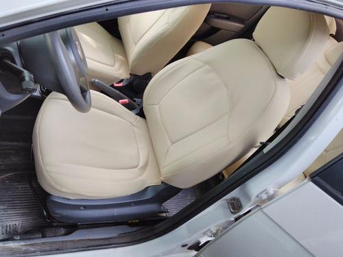 capas automotivas de couro sintetico courvin para o palio g5
