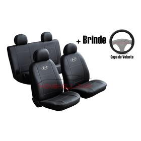 Capas Bancos Automotivo Carro Couro Hyundai Hb20 Creta Ix35