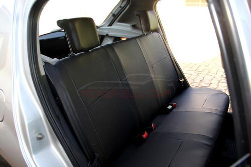 capas bancos carro couro clio sedan egeus 1.0 16v flex 2008