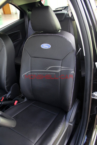 capas bancos carro couro novo ford ka hatch se 1.5 16v 2018