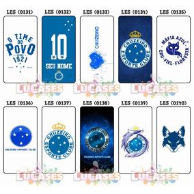 5969081e596e3 Capa Para Celular Personalizada Time Cruzeiro - Capas para Celular no  Mercado Livre Brasil