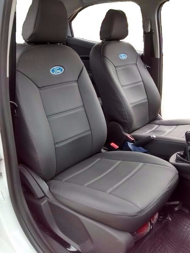capas d banco automotivo d couro ecologico  para o ka+ novo