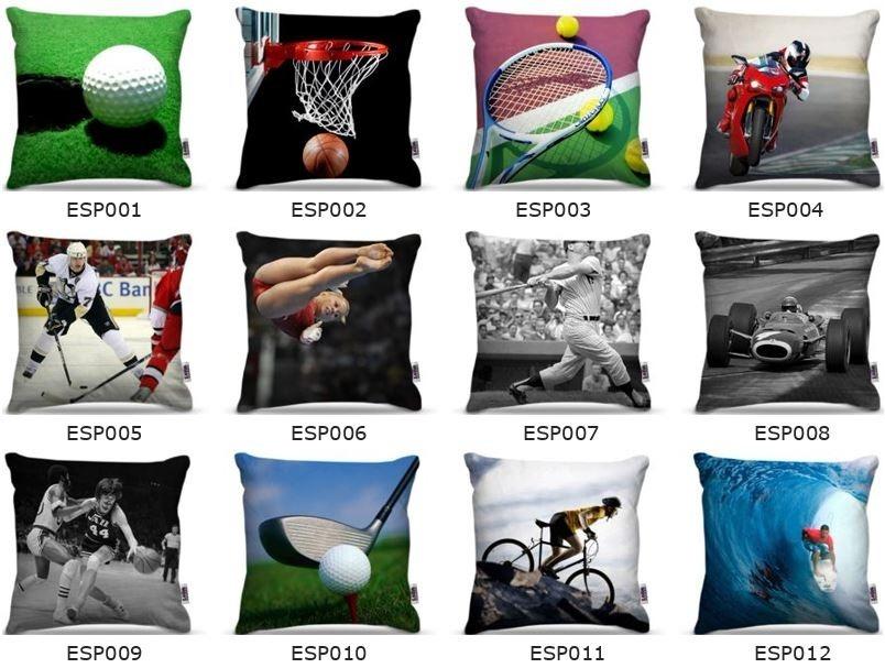 b3bfc7443f46b5 Capas De Almofada Times Futebol Copa Esportes Skate 45x45cm