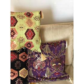 Capas De Almofadas Turcas Decorativas Importada Exótica Chic