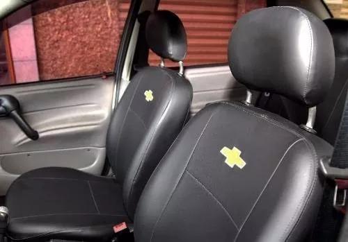 Capas De Banco Couro Tecido Chevrolet Meriva Zafira 5 Lugar R 169