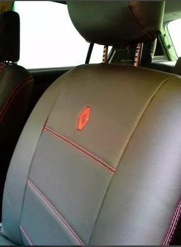 capas de banco de couro courvin sandero