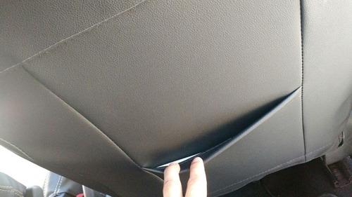 capas de banco em  100% couro ecologico  courvin sob medida