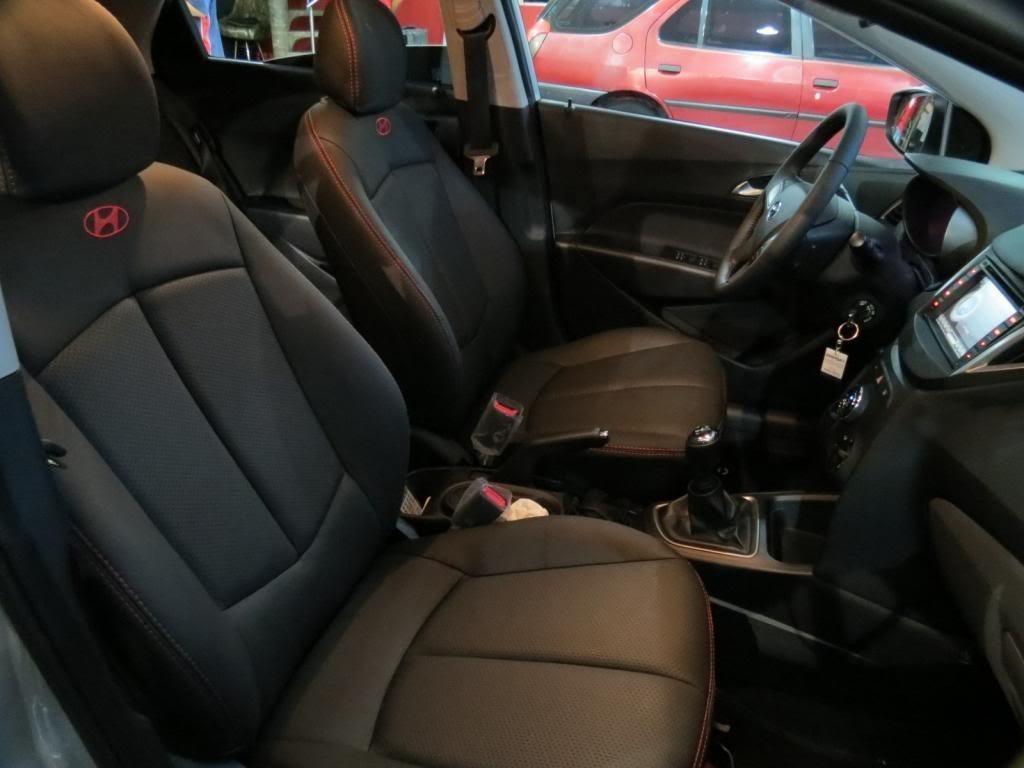 Capas De Bancos Automotivos Couro Carro P Hyundai Hb20s
