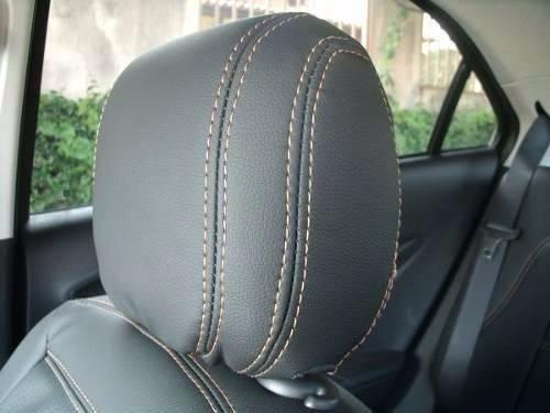 capas de bancos automotivos couro carro p/ onix 1.0 ls 2013