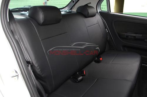 capas de bancos automotivos couro específicos p/ vw gol g6