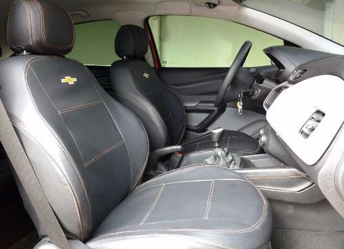 capas de bancos automotivos de couro para onix 1.0 ls 2013