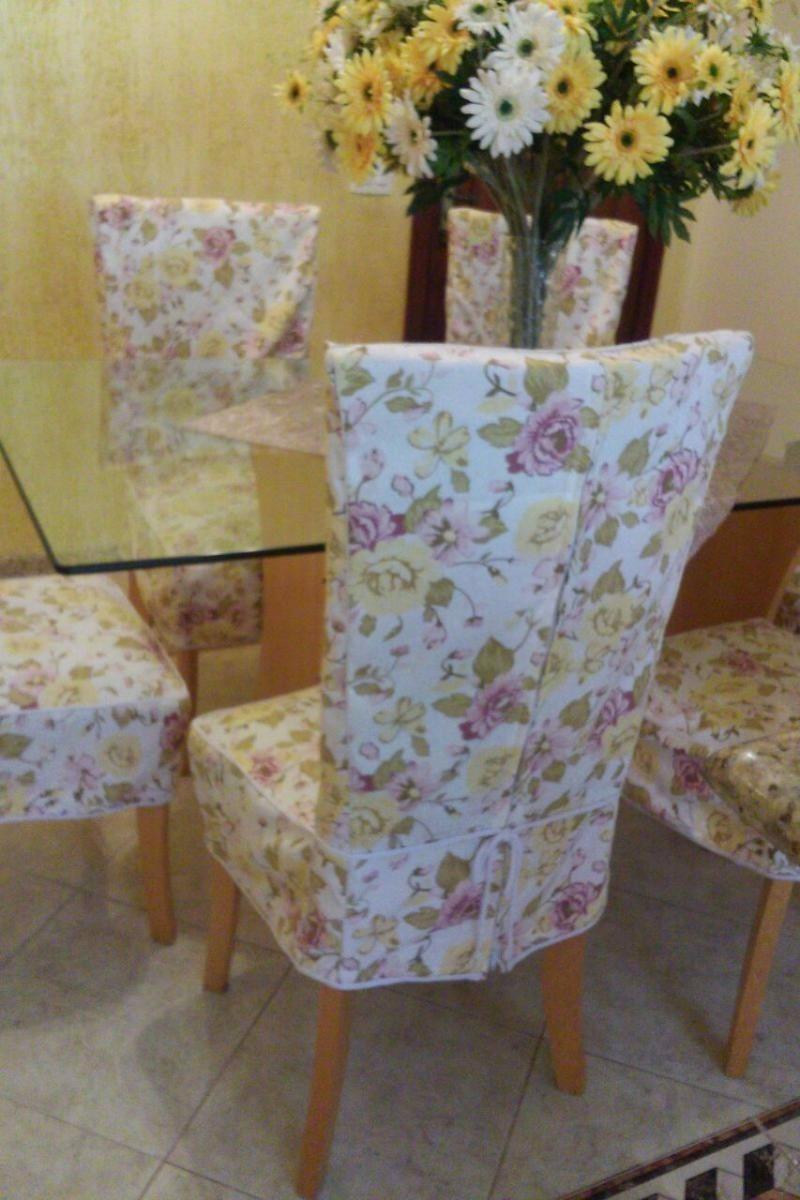 Capas de cadeiras luxo e capas para atelie kit com 4 r - Tapizado de sillas paso a paso ...