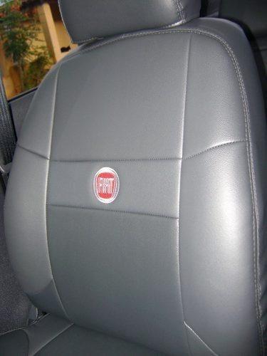 capas de couro com logomarca p/ uno palio siena