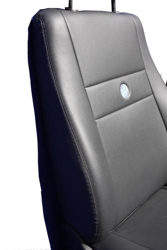 capas de couro courvin com bordados personalizados p/gol g4