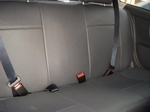 capas de couro ecológico courvin para carros ford com logo
