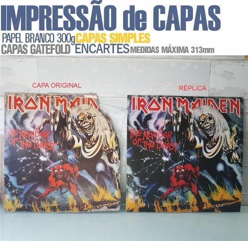 capas de discos - impressão
