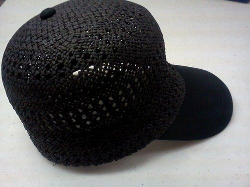 capas de headwear de la gorra de béisbol de la paja del ver
