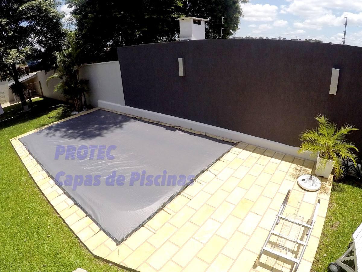 Capas de piscinas 12 x 6 lona cobertura tela prote o for Tela impermeable para piscinas