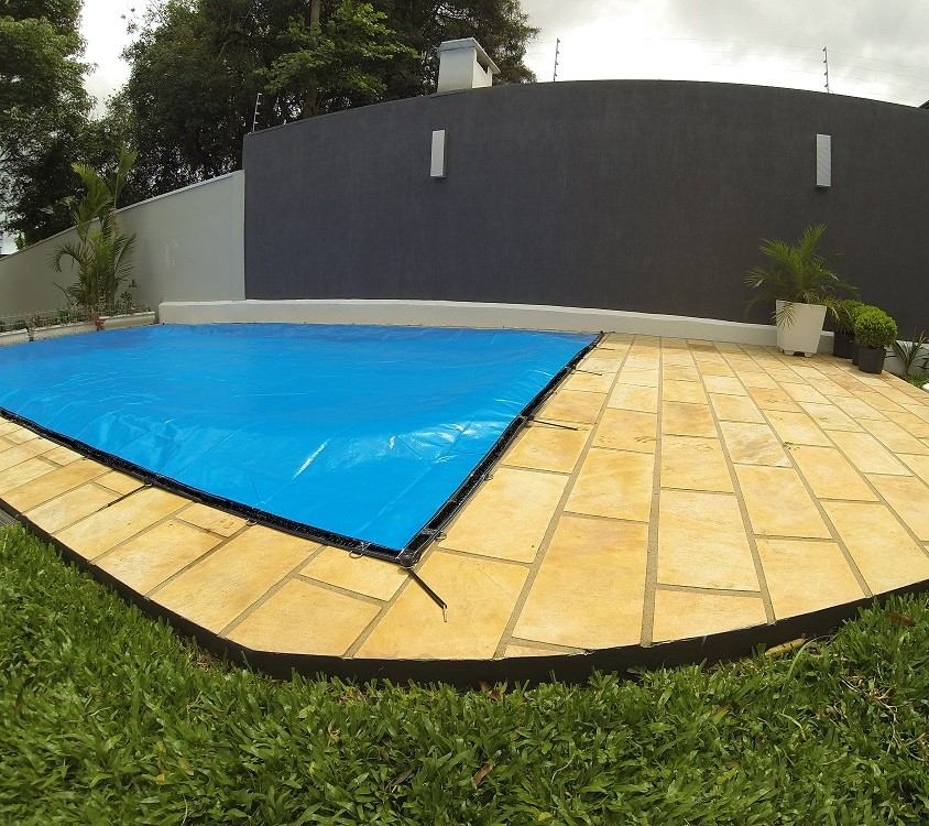 Capas De Piscinas 500 Micras Lona Tela Prote O Tela