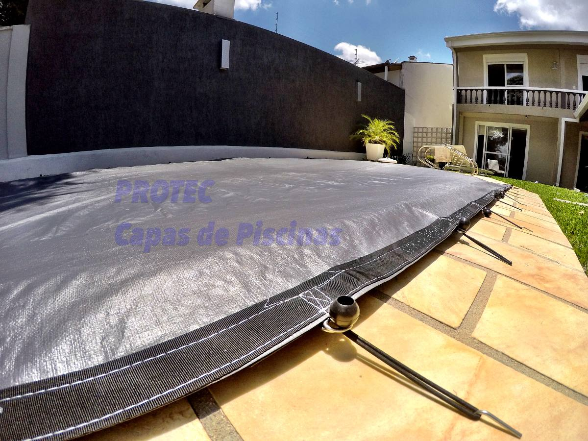 Capas de piscinas 7 5 x 4 0m lona prote o cobertura tela for Tela impermeable para piscinas