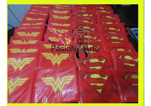 capas estampadas superheroes lavables frozen princesas x20u