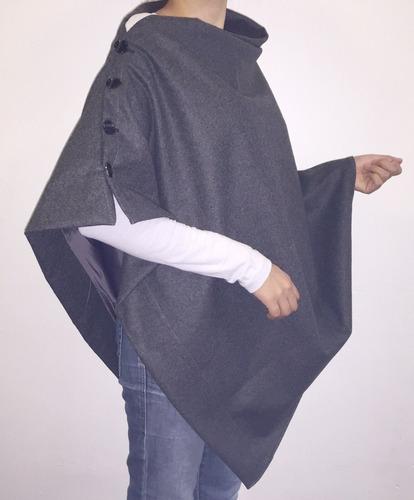 capas para dama de paño y gabardina