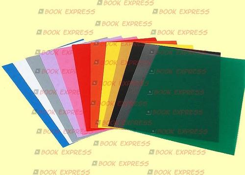 capas pp encadernação a4 frente ou fundo, 100 pçs 1a linha!