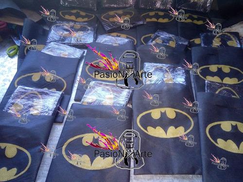 capas y bolsitas superheroes super heroes x30 u