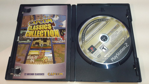 capcom classics collection ps2