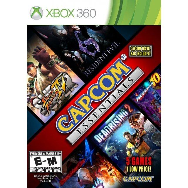 Capcom Essentials Para Xbox 360 5 Juegos Nuevo Sellado 949 00