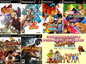Capcom Fighter Collection - Playstation 2