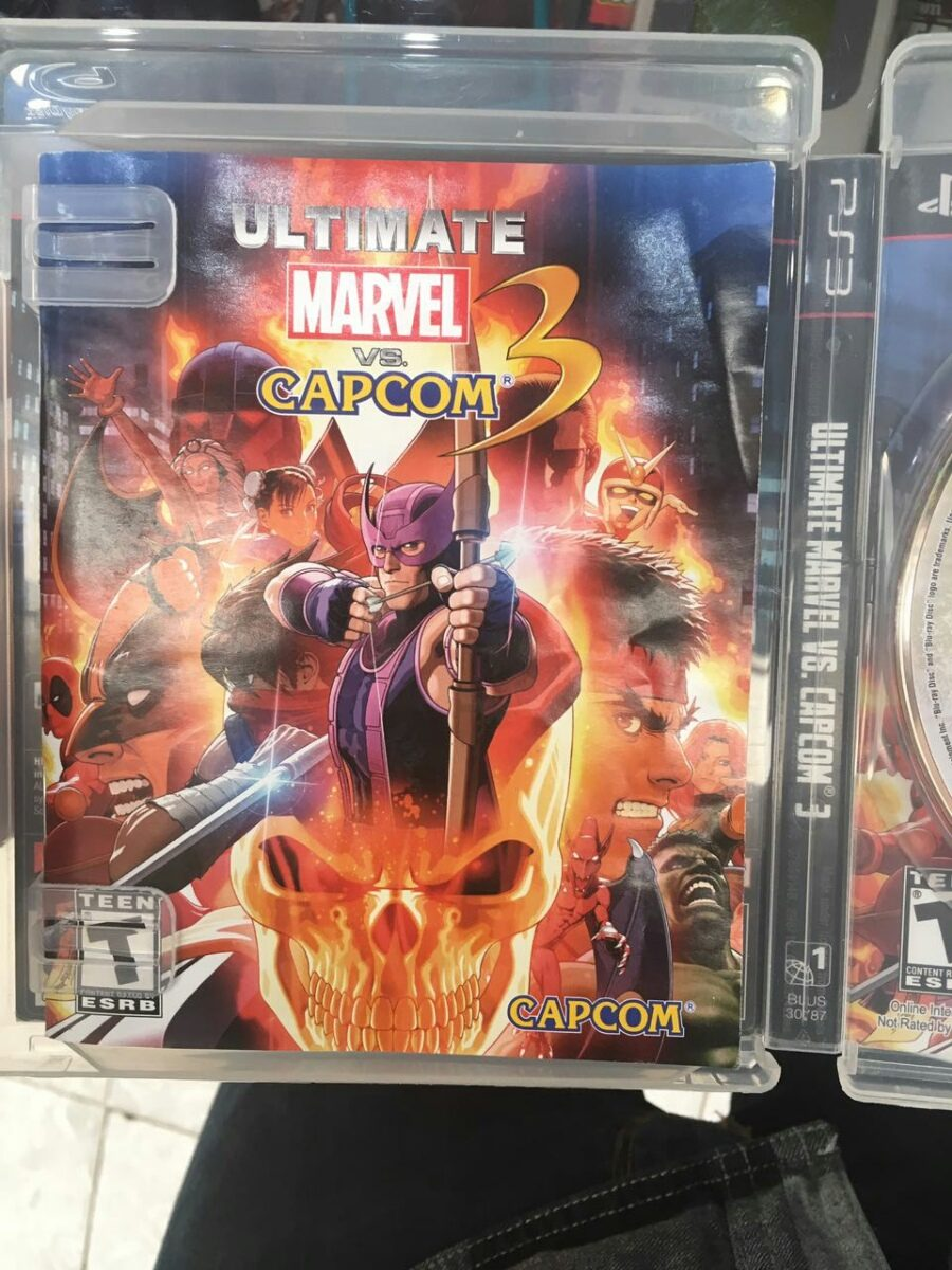 how to get marvel vs capcom 2 on ps3