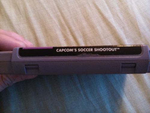 capcom's soccer shootout original snes