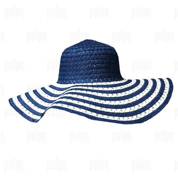 Capelina Bicolor Extra Large Uma Sombrero De Mujer -   165 2f0247e68cc