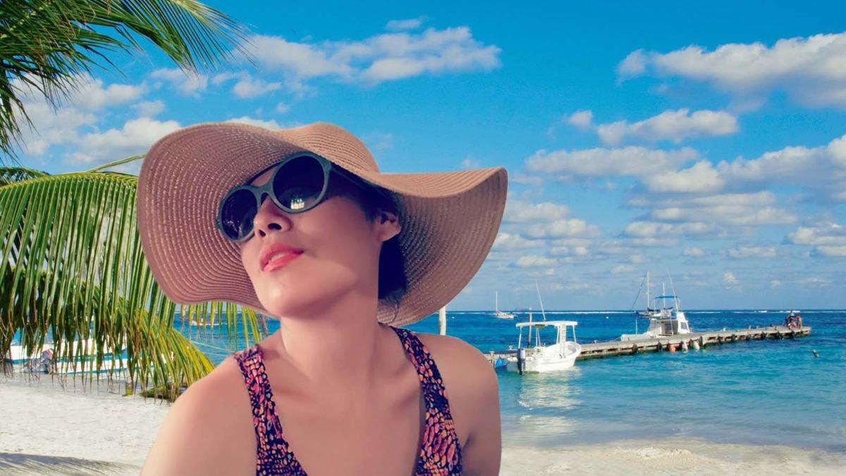 eb9c5d89acc88 capelina de verano la playa unicas x unidad. Cargando zoom.