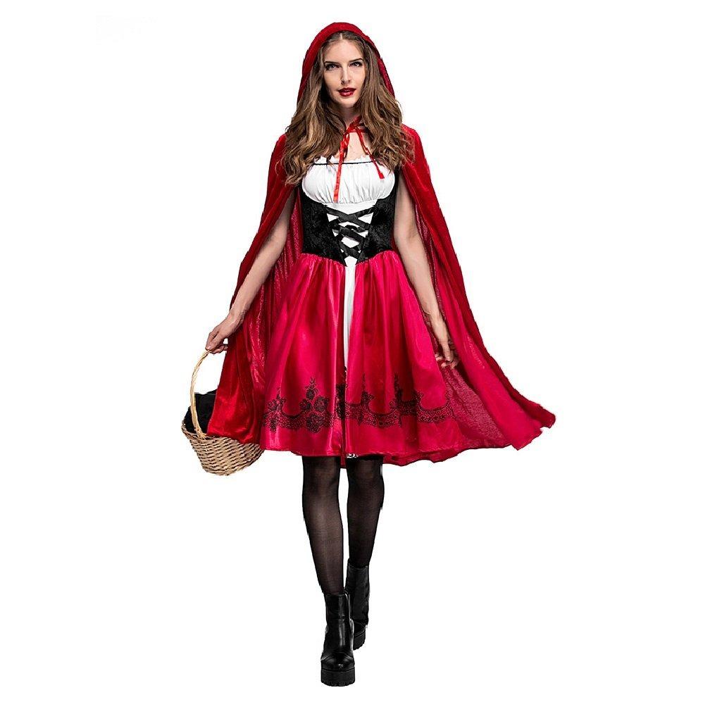 Caperucita Roja Halloween.Caperucita Roja De Las Mujeres Capa De Cosplay De Halloween