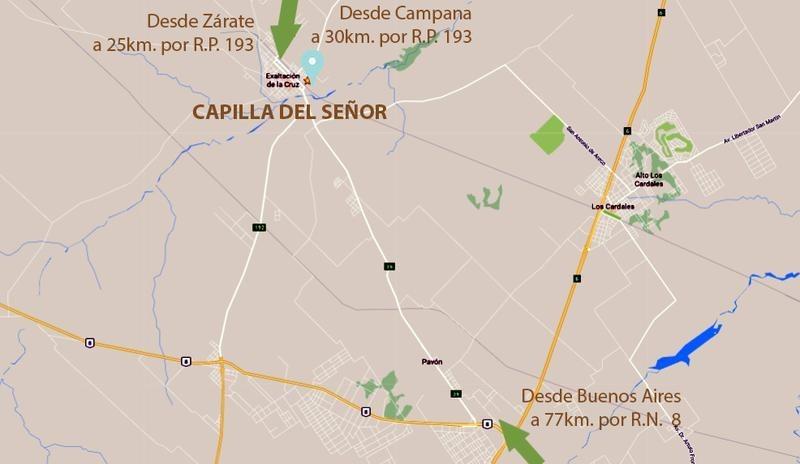 capilla del señor, barrio residencial, 72 cuotas sin expensas y en pesos