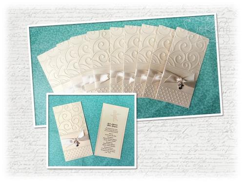capillos, tarjetas, invitaciones hechas a mano