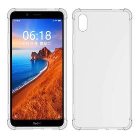 Capinha + Película Full 3d Novo Xiaomi Redmi 7a Tela 5.45