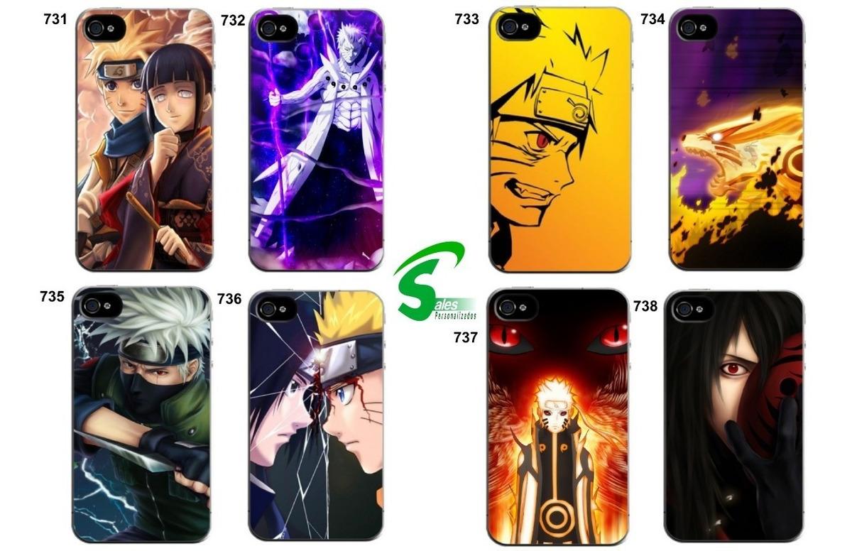 Capinha Anime Naruto Kakashi Obito Galaxy S7 S7 Edge