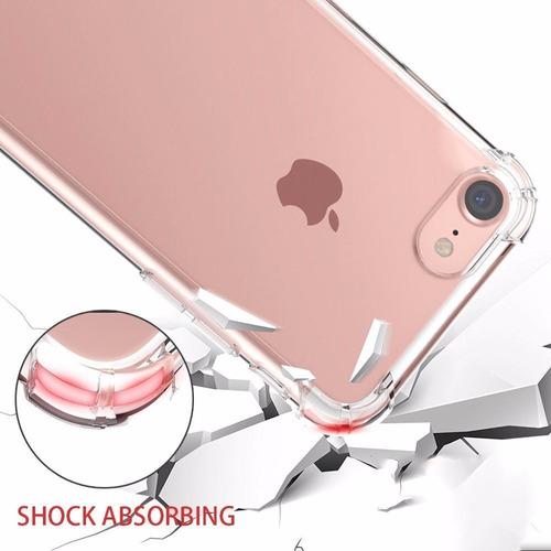 capinha anti queda silicone 100% resistent iphone x 7 8 plus