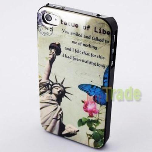 capinha apple iphone 4 flor bandeira linda oferta