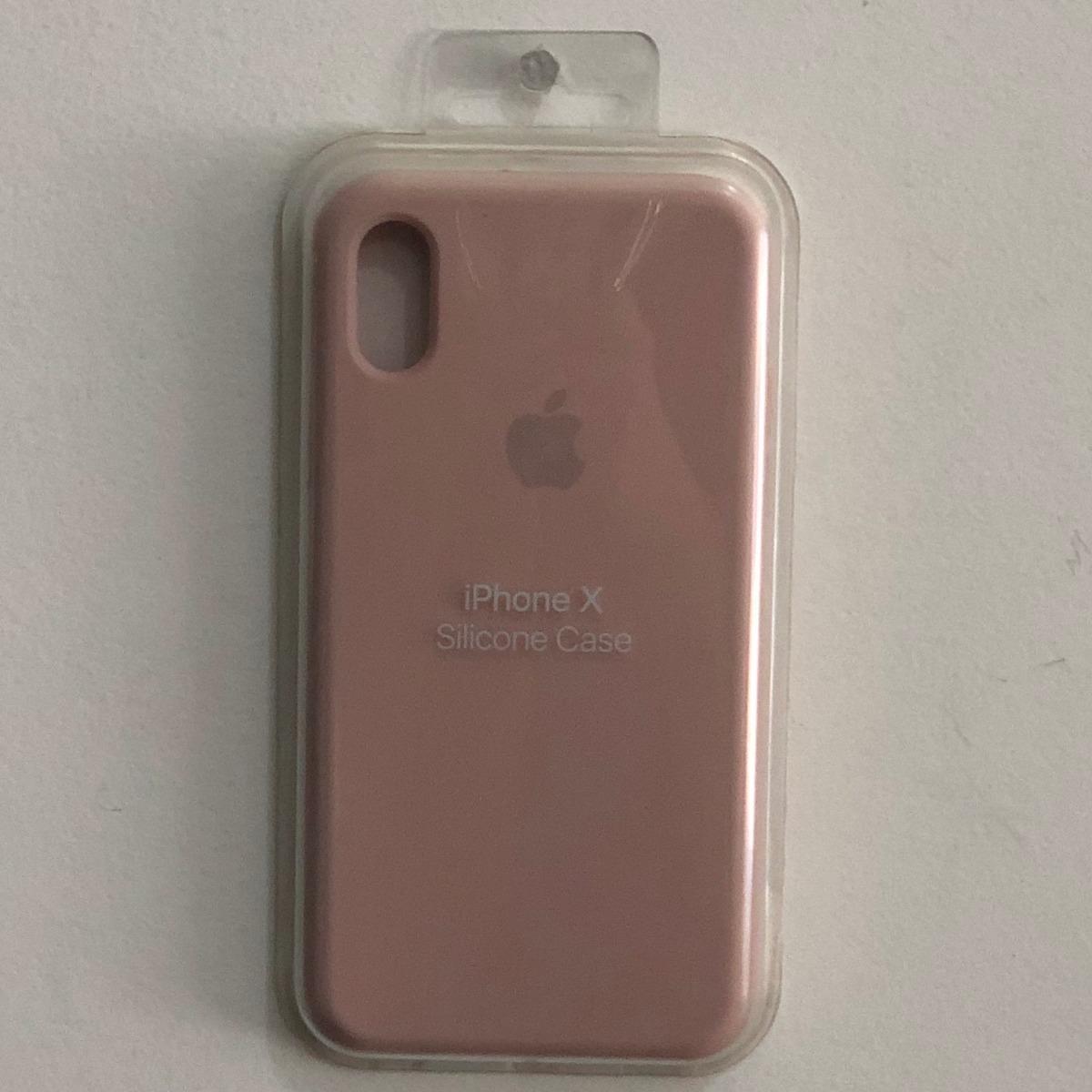 Capinha Apple Original Iphone X (17 Cores Disponiveis) - R  39,99 em ... 01ba03a989