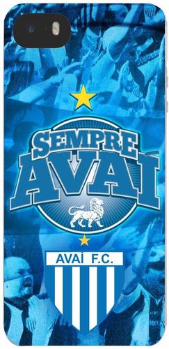 capinha avaí futebol clube iphone 4s 5s 5 6 6s 7 8 plus x