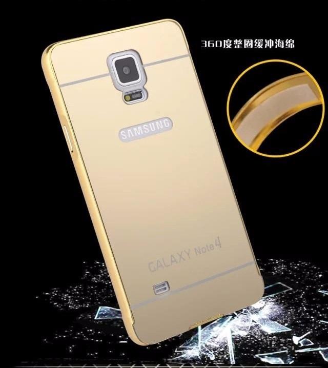 182912397 Capinha Bumper Celular Samsung Galaxy Note 4 + Tampa Note4 - R ...